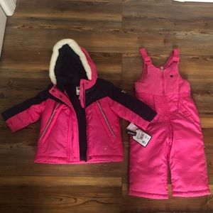 OshKosh NWT snowsuit set
